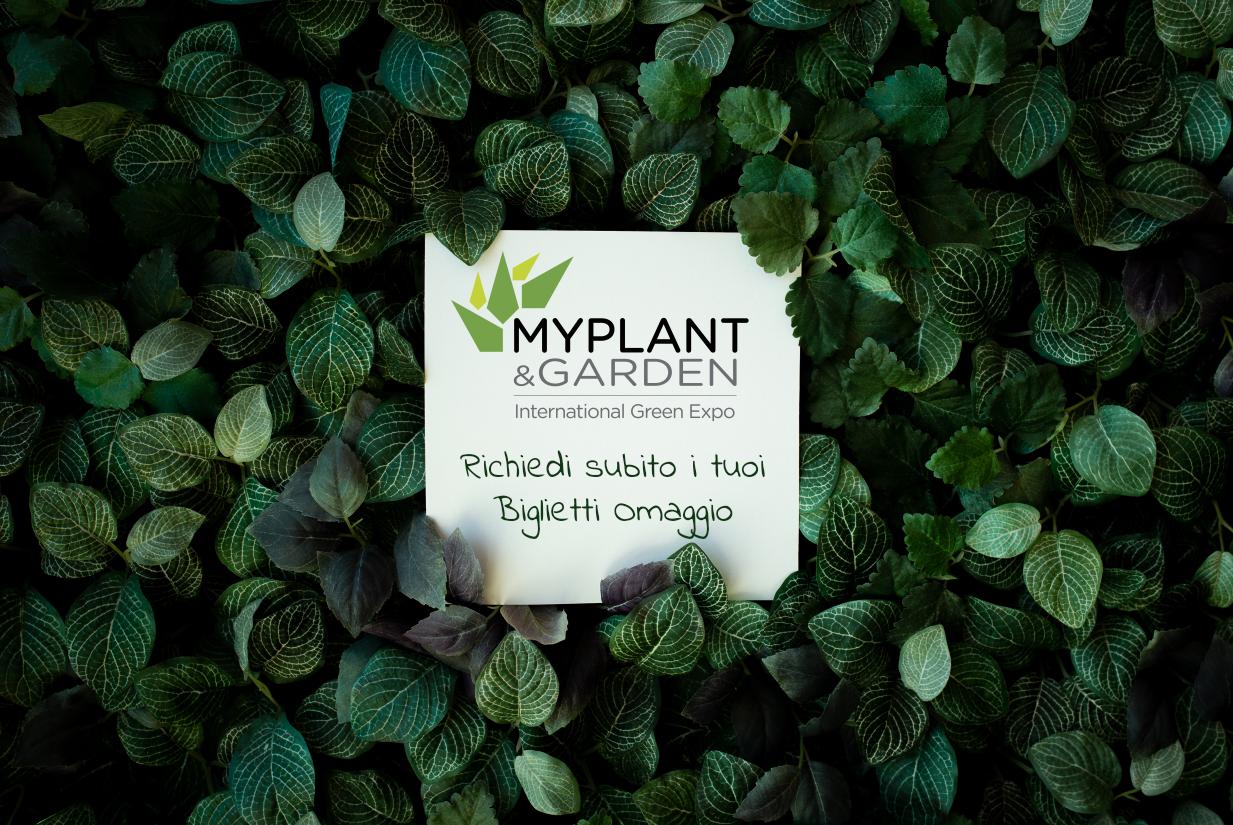 myplant & garden 2020 biglietti omaggio