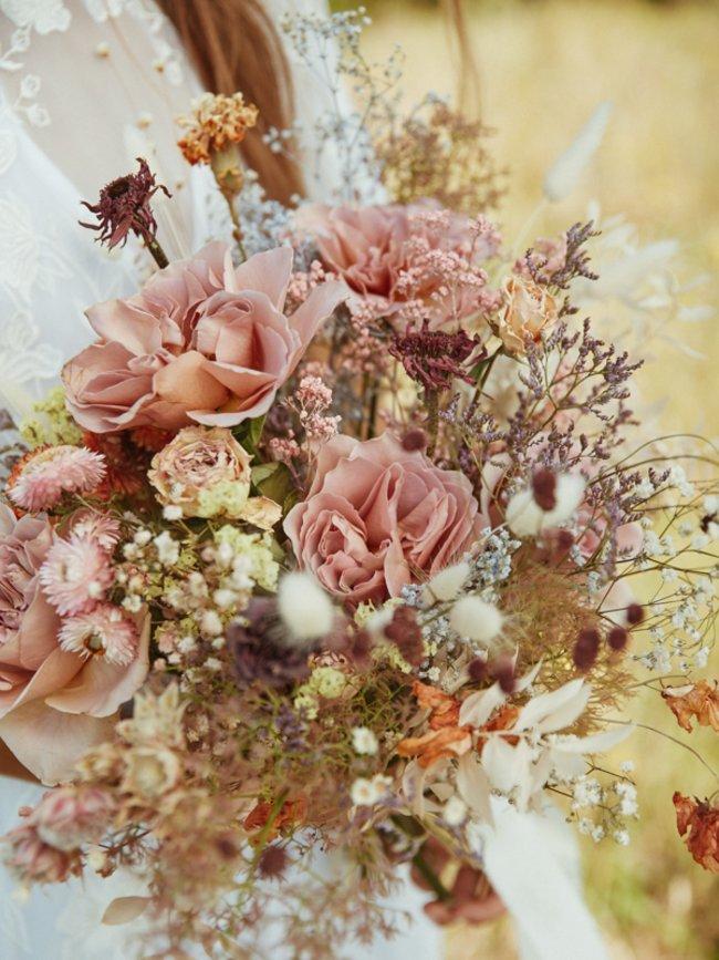 bouquet matrimoniali bouquet matrimoniale fiori essiccati